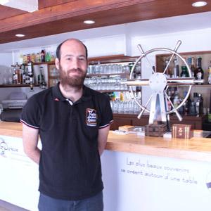 Florian, chef de salle de La Malle aux épices