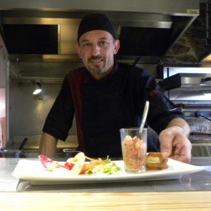 Jérôme Lithard, chef cuisinier de La Malle aux épices