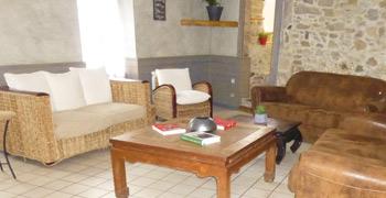 Le salon d'attente de La Malle aux épices